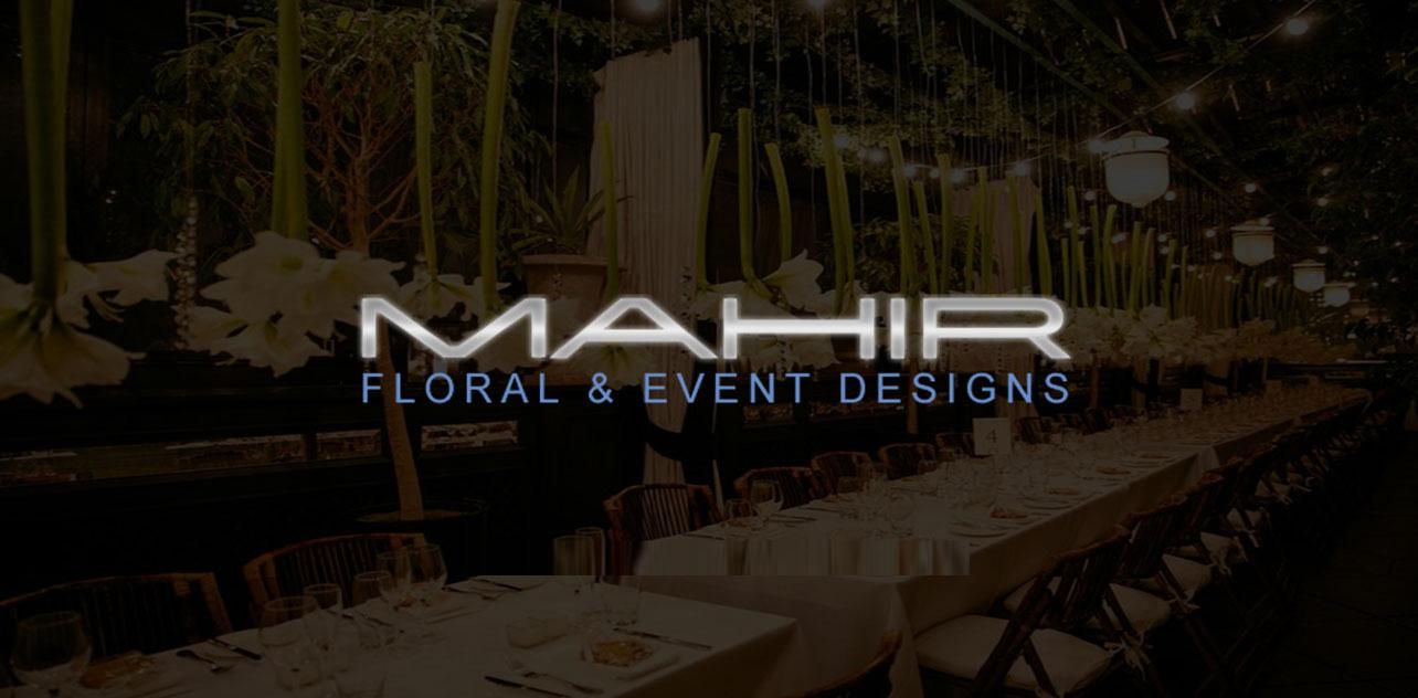Mahir Floral & Event Design logo