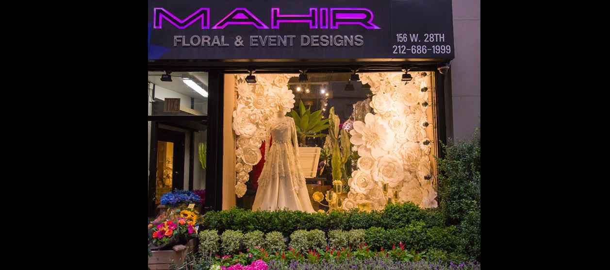 An Enchanting New Flower Shop Website In Chelsea New York