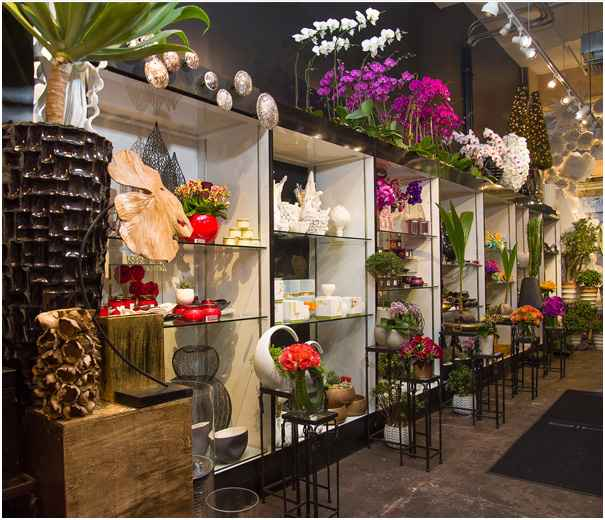 An Enchanting New Flower Shop Website In Chelsea New York Mahir