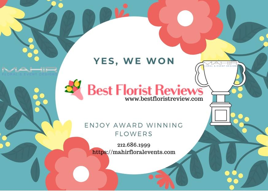 enjoy award winning flowers