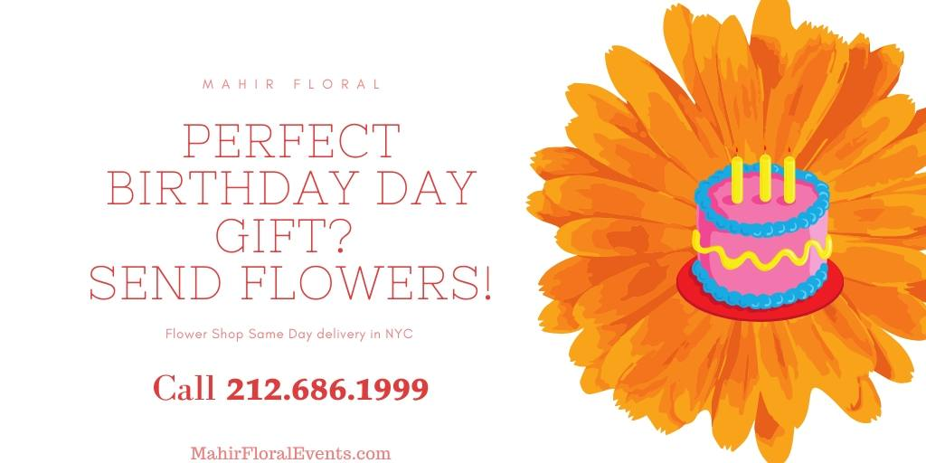 Ads Send Fresh Birthday Flowers
