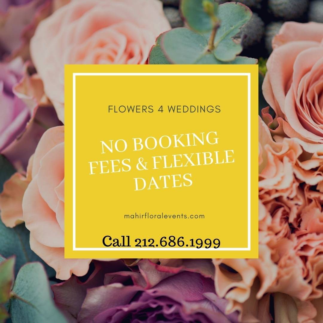 Flowers 4 Weddings | No booking fees & flexible dates