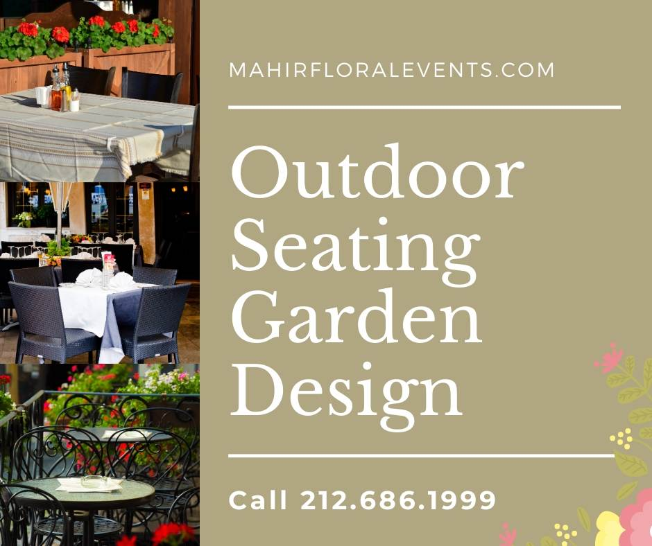 NYC Restaurant outdoor seating Garden Design